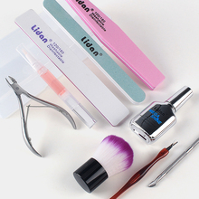 Polish Tool Nail art Cuticle Nipper Pusher Cutter Clipper Trimmer Manicure Dead Skin Remover Buffer Sand Scissor Clean Brush Box nail cuticle pusher tweezer rainbow cutter nipper clipper dead skin remover uv gel polish stainless steel clean nail art tool