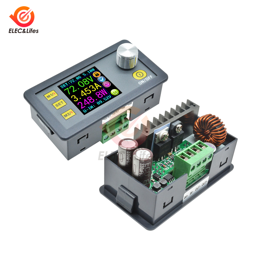 DP30V5A DP50V5A Digital Voltmeter Ammeter Wattmeter Constant Voltage Current Detector Programmable DP Buck Power Supply Module