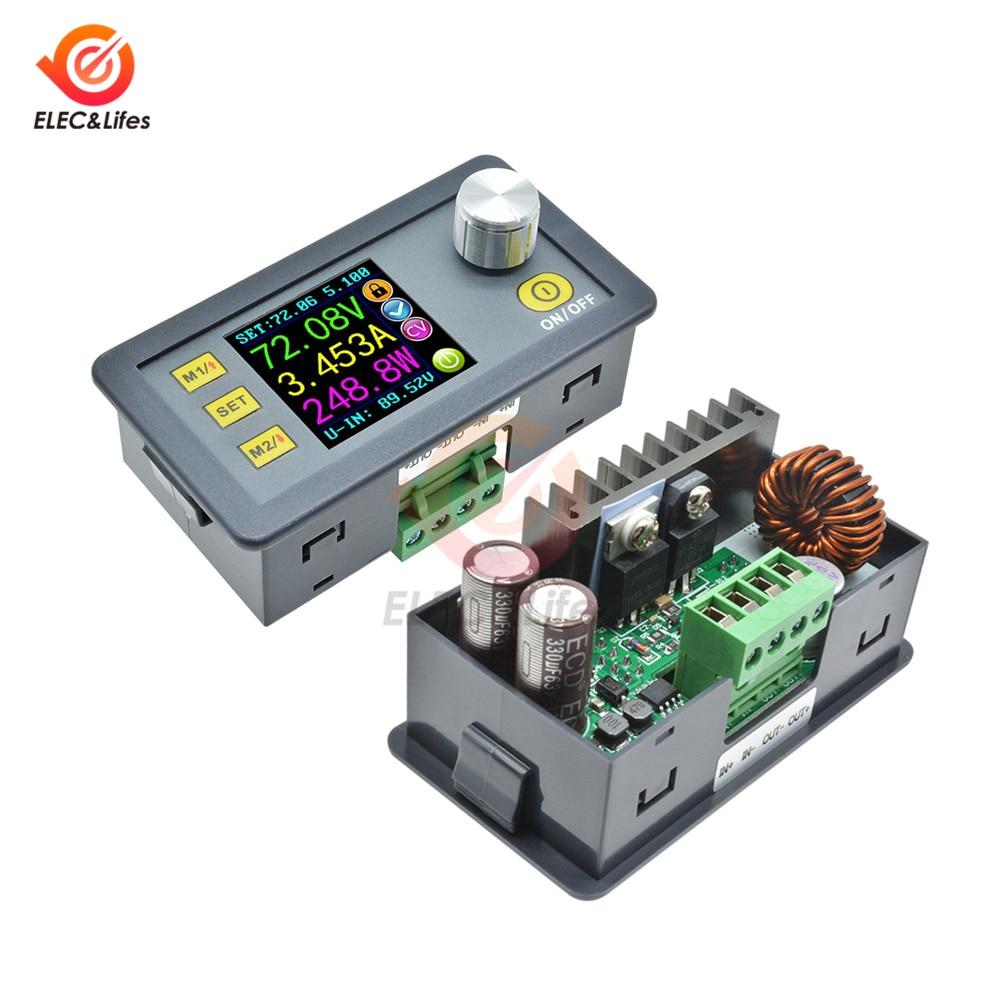 DP30V5A DP50V5A Digital Voltmeter Ammeter Wattmeter Constant Voltage Current Detector Programmable DP Buck Power Supply Module