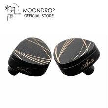 Moondrop aria fones de ouvido de alto desempenho lcp diafragma dinâmico iems com cabo destacável