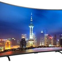 85 дюймов Изогнутые 4K grobal версия ТВ Wi-Fi к ТВ ОС Android smart led Телевизор ТВ