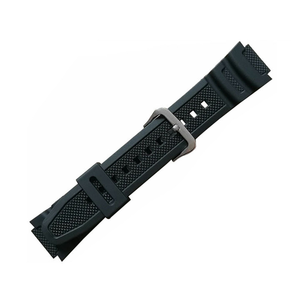 Fashion Digital Strap Watch Band Waterproof Quick Release Rubber PU Quartz Wrist Replacement Soft Sport For Casio AQ-S810W