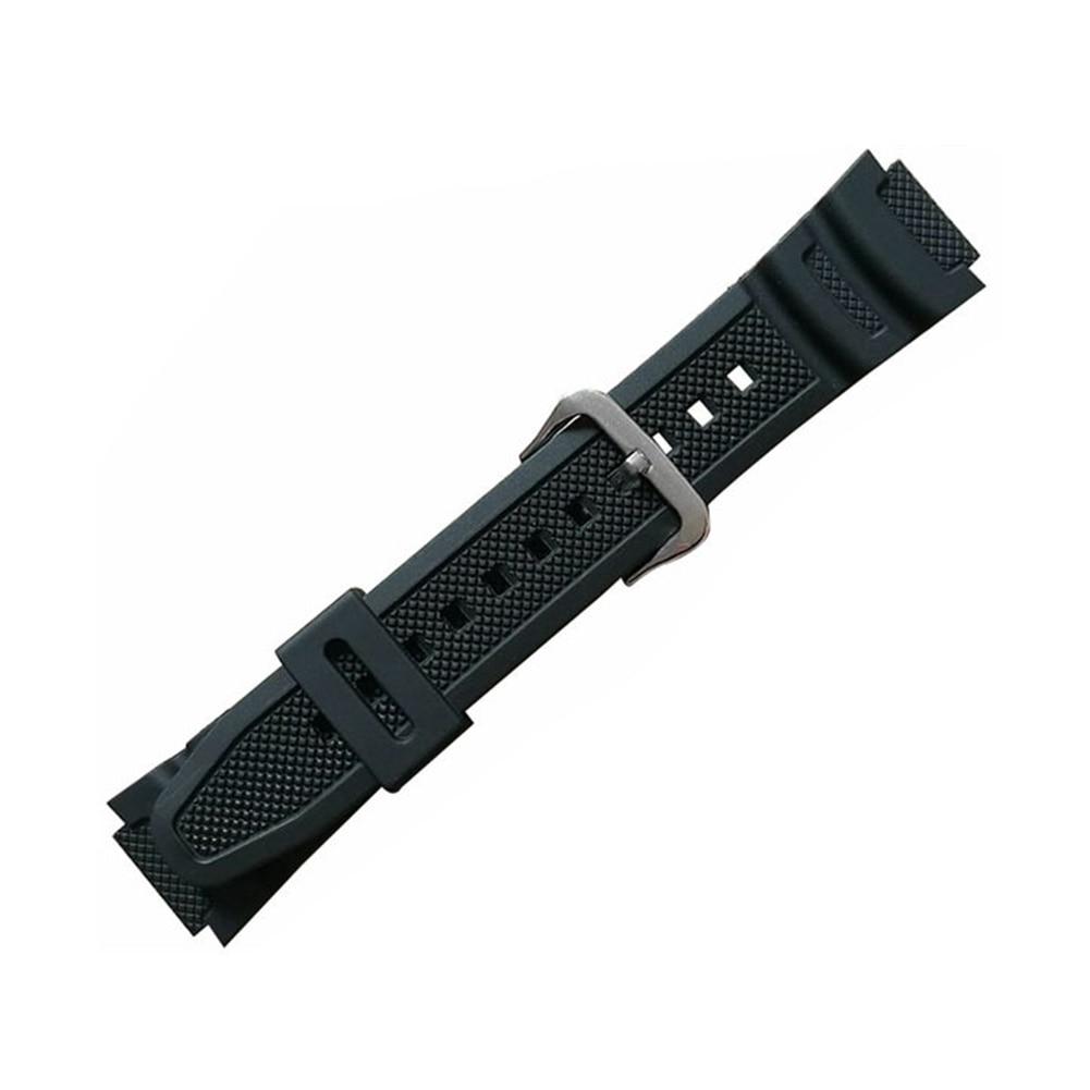 Fashion Digital Strap Watch Band Waterproof Quick Release Rubber PU Quartz Wrist Replacement Soft Sport For Casio AQ-S810W