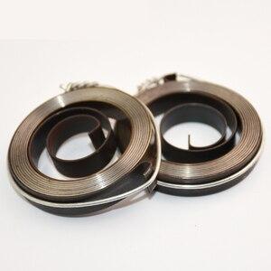 1PCS Clockwork Spring Milling/Drilling Machine Spring Inside Hook Outside Hook Width 6 8 12 16 19mm