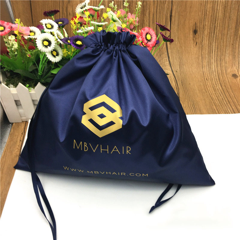 Luxury Jewelry Packaging Bag Makeup Pouch Travel Storage Cosmetic Cloth Shoe Gift Box Hair Satin Bags Cutom Print Logo