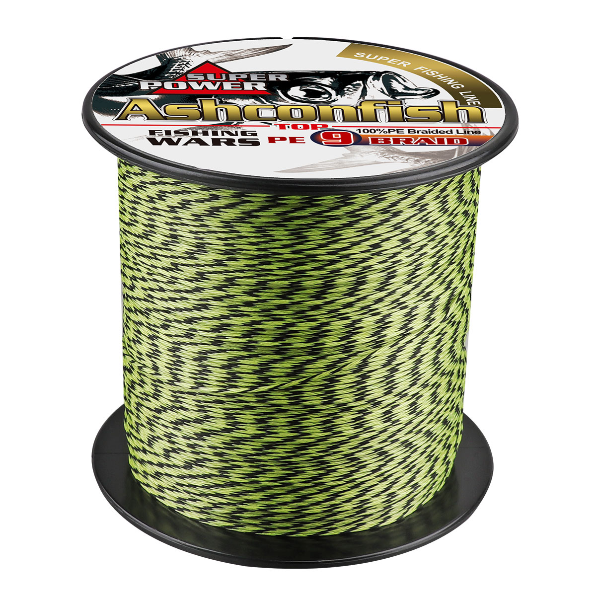 Ashconfish Multifilament fishing braid line wire cord mix color 500m 1000m super 9 strands round 15 20 30 50 <font><b>60</b></font> <font><b>100</b></font> 0.14 0.55mm image