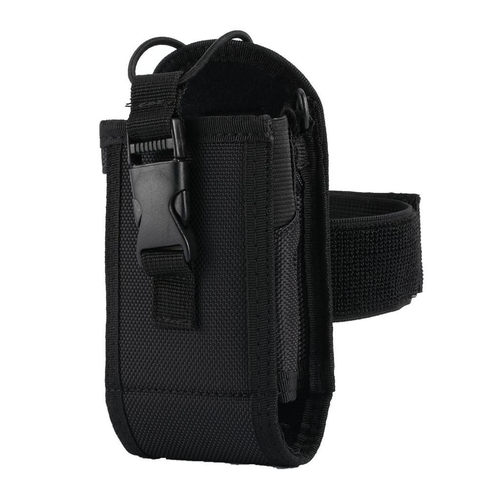 3 In 1 Two Way Radio Bag Holster Case For  GP328 MTP850 Midland Baofeng UV-82  Walkie Talkie