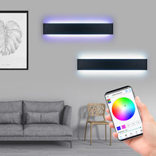 Rgb настенный светильник светодиодный с эффектом управления