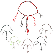 R01 охотничий Утенок, шнур для вызова, охотничий игровой шнур для вызова, Охотничья приманка, веревка с 12 регулируемыми петлями, свисток для диких птиц