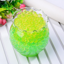 500Pcs/bag Pearl Shaped Crystal Soil Water Beads Mud Grow Magic Jelly Balls Home Decor Aqua Wholesales Swelling
