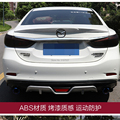Для Mazda 6 Atenza корпусный набор Задний Спойлер ABS пластиковый Неокрашенный цвет задний спойлер на крышу крыло багажника губы загрузки крышка а...