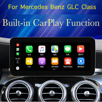 For Mercedes Benz GLC 300 220 250 350 43 63 MB W253 NTG With 360 BirdView Car Stereo Audio Navigation CarPlay GPS Navi image