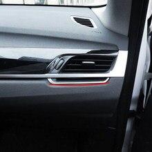 Zlord aço inoxidável capa de proteção ventilação ar do carro guarnição saída ar lantejoulas adesivo para bmw x1 f48 2016 2017 2018 peças