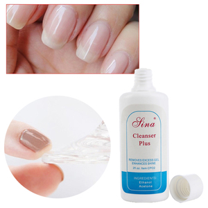 Liquid Removes Gel Enhances Shine Cleanser Cleansing Gel Remover Nail Polish Remover Solvent Cleaner UV Nail Clean Degreaser