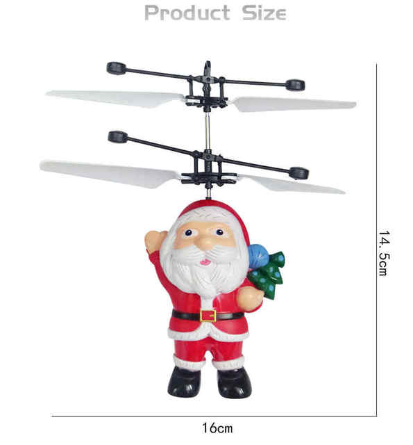 RC UFO Anti-collision Fly Helicopter Magic Hand UFO Ball Aircraft Sensing Mini Induction Drone UFO toys Kids Electric Toy