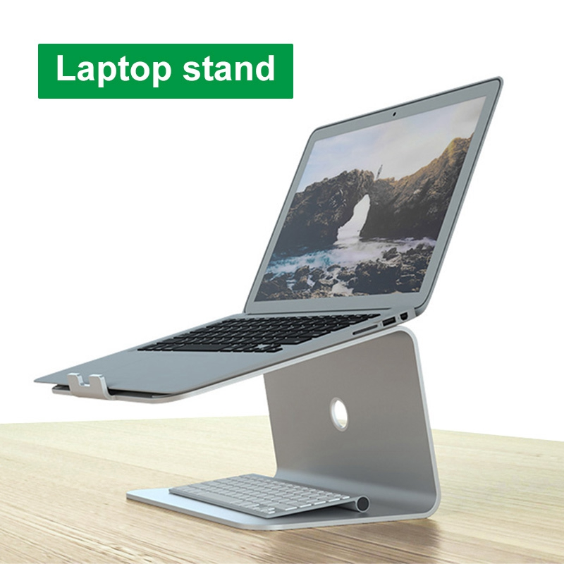 Aluminum Alloy Laptop Stand Portable Notebook Stand Holder For Macbook Air Pro 11-17 Inch Non-slip Lapdesk Computer Bracket