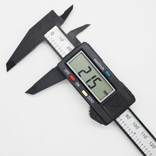150mm 0-6 Polegada es eletrônico digital caliper com grande tela lcd micrômetro ferramenta de medição Polegada/fração/mm conversão