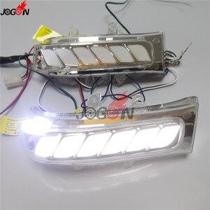 Image 4 - Für Toyota Sienna Highlander RAV4 Previa Alphard Noah 07 13 Dynamische Blinker Licht LED Seite Spiegel Sequentielle Anzeige lampe