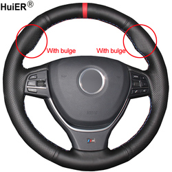 Protector de mano para volante de coche Volant, accesorios para coche, para BMW F10 2003-2012 F11 (Touring) F07 (GT) F12 F13 F06 F01 F02