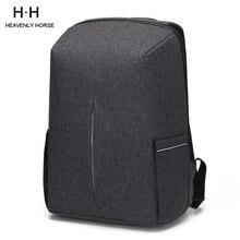 Mochila Oxford a prueba de salpicaduras para ordenador portátil de 15,6 pulgadas para hombre, mochila antirrobo, mochila de viaje para adolescentes, bolso escolar para hombre