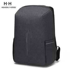 Image 1 - Splashproof Oxford 15.6inch Laptop Backpacks Anti Theft Men Backpack Travel Teenage Backpack bag male bagpack mochila School Bag
