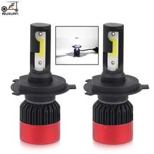 цена на 2PCS Car H7 Led Headlight Bulbs H4 H1 H3 H11 9005 HB3 9006 HB4 H8 H9 H11 880 881 50W/Pair Auto Car 12V 6000K High Bright Lamp