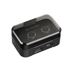 Image 3 - BlitzWolf FYE3S 3 TWS אמיתי אלחוטי Bluetooth 5.0 אוזניות 2600mAh גדול סוללה דיגיטלי כוח תצוגת ספורט אוזניות