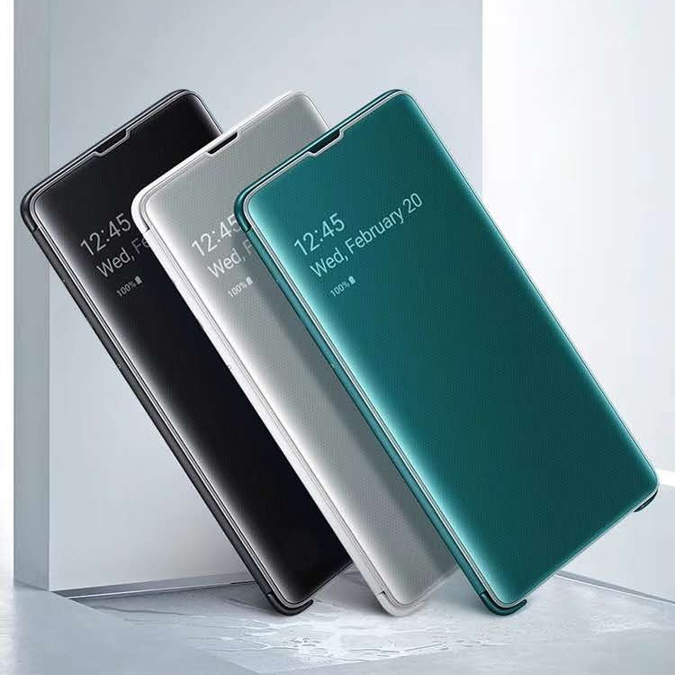 New arrival Smart <font><b>mirror</b></font> <font><b>flip</b></font> 360 phone <font><b>case</b></font> for <font><b>Samsung</b></font> Galaxy S9 <font><b>S10</b></font> Plus clear cover for <font><b>samsung</b></font> S10e <font><b>S10</b></font> e smartphone <font><b>case</b></font> image