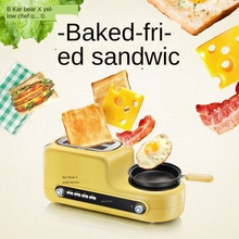 3-in-1 Multifunctional household toaster Mini breakfast maker oven Bread Baking egg steamer sandwich making machine kitchen household automatic breakfast making machine american mini hot dog machine bread sausage maker toast furnace