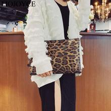 Casual Women Animal Print Clutch Female Fashion Design Leopard Print Portable Wristlet Clutch Women Wallet PU Leather Coin Purse fashion style women s clutch with rivets and pu leather design