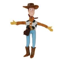 2019 Movie 22cm Woody Soft Plush Stuffed Doll Figure Cartoon Toy Children Kids Gift B701 2019 movie forky soft plush stuffed doll figure cartoon toy children kids gift b705