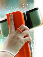Magnetic Window Cleaner Portable Wipe Glass Cleaning Tools Glass Wiper for Double Side Window Cleaning Brush Car Window Wiper