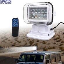 7 인치 50W Led 원격 제어 빛 무선 자석 검색 빛 캠프 사냥 낚시 보트 해양 4x4 Offroad 작업 램프 1Pcs