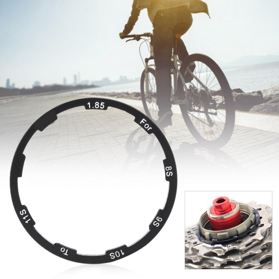 2PCS Bike Hub Spacer MTB Bottom Bracket Washer Cassette Flywheel Gasket Washer