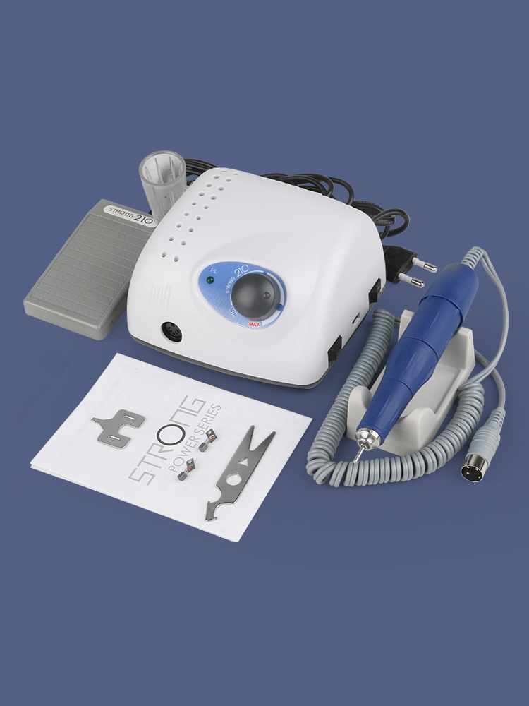File-Bit Pedicure Nail-Art-Equipment Electric-Nail-Drill-Machine Strong 210 Model-Handpiece