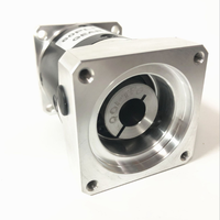 Free Shipping PLF60 100:1 Square Flange Output Shaft For CNC Flame Cutting Machine 3 Speed Planetary Gearbox
