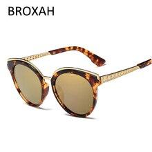Фирменный дизайн, модные поляризованные солнцезащитные очки для женщин, винтажные Круглые Солнцезащитные очки для женщин, UV400, оттенки, для девушек, Gafas De Sol Mujer 257