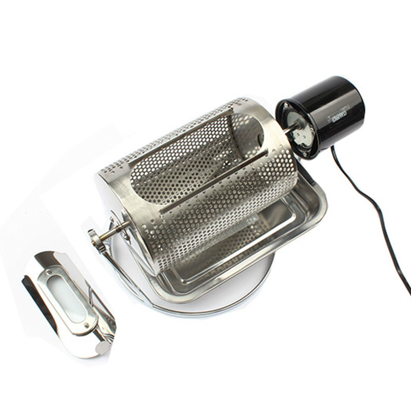 Home Use Coffee Bean Roaster Machine Stainless Steel Coffee Beans Roasting Machine Peanuts Nuts 110V 220V 40w EU US BS Plug