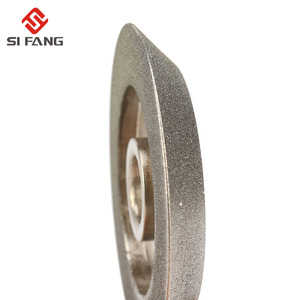 Image 2 - 78mm electroplating Diamond Grinding Wheel 45 Degree Angle Cutter Grinder Grinding Disc for Grinding Abrasive Cutting Tool  Gri