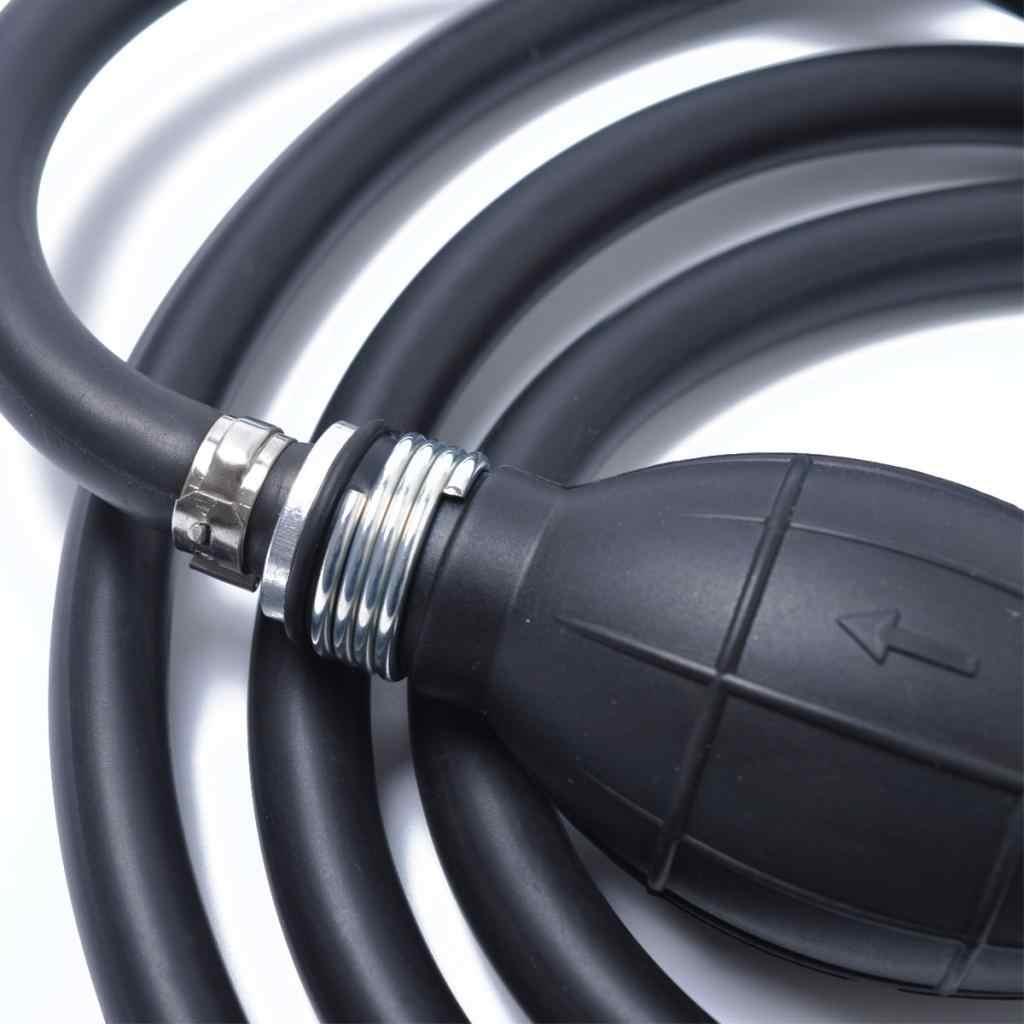 Boat RV Outboard Motor Boat Tank Fuel Gas Hose Line Hand Primer Bulb 6mm