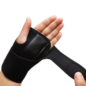 Removable Adjustable Wristband Steel Wrist Brace Support Arthritis Sprain Carpal Tunnel Splint Wrap Protector