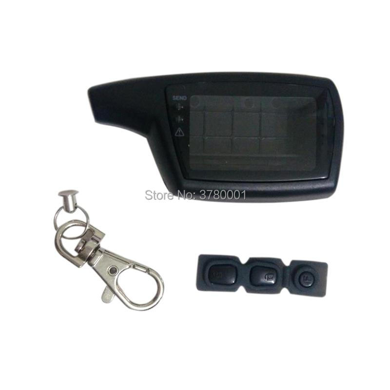 DXL3000 Case Keychain Body Cover For Russian Pandora DXL3000 Lcd Remote Control Two Way Car Alarm System Pandora LX 3290