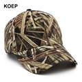 Новинка 2021, кепка KOEP для рыбалки на открытом воздухе, бейсболка в стиле джунглей, Охотничья Кепка, хлопковая камуфляжная кепка в стиле папы, ...