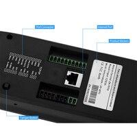 Máquina de impressão digital comparecimento do tempo reconhecimento de impressão digital senha abridor de porta sistema de controle de acesso empregado verificação-in as99