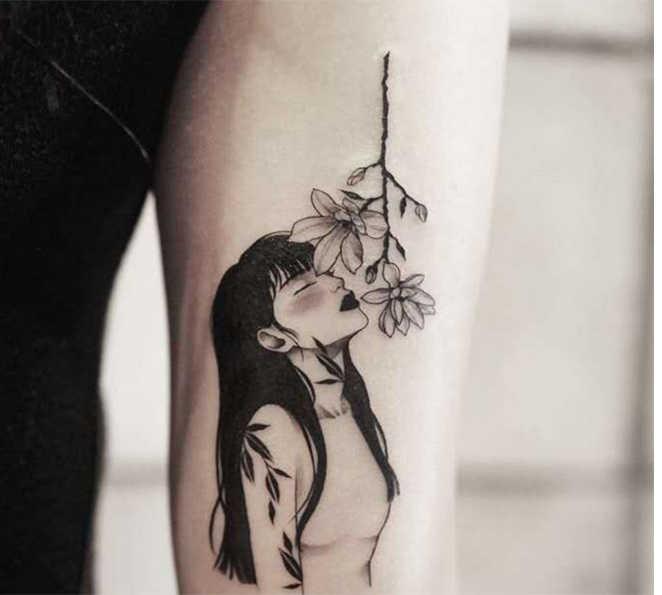 Pegatina de tatuaje temporal, tatuajes a prueba de agua, pegatinas de tatuaje falso, máscara de chica y bestia, tatuaje de mano, pecho, arte corporal para mujeres y niñas