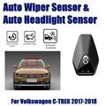 Умная автомобильная система ассистента вождения для Volkswagen VW C-Trek 1.5L 2018 ~ 2019 автоматический датчик стеклоочистителя дождя и датчики фар