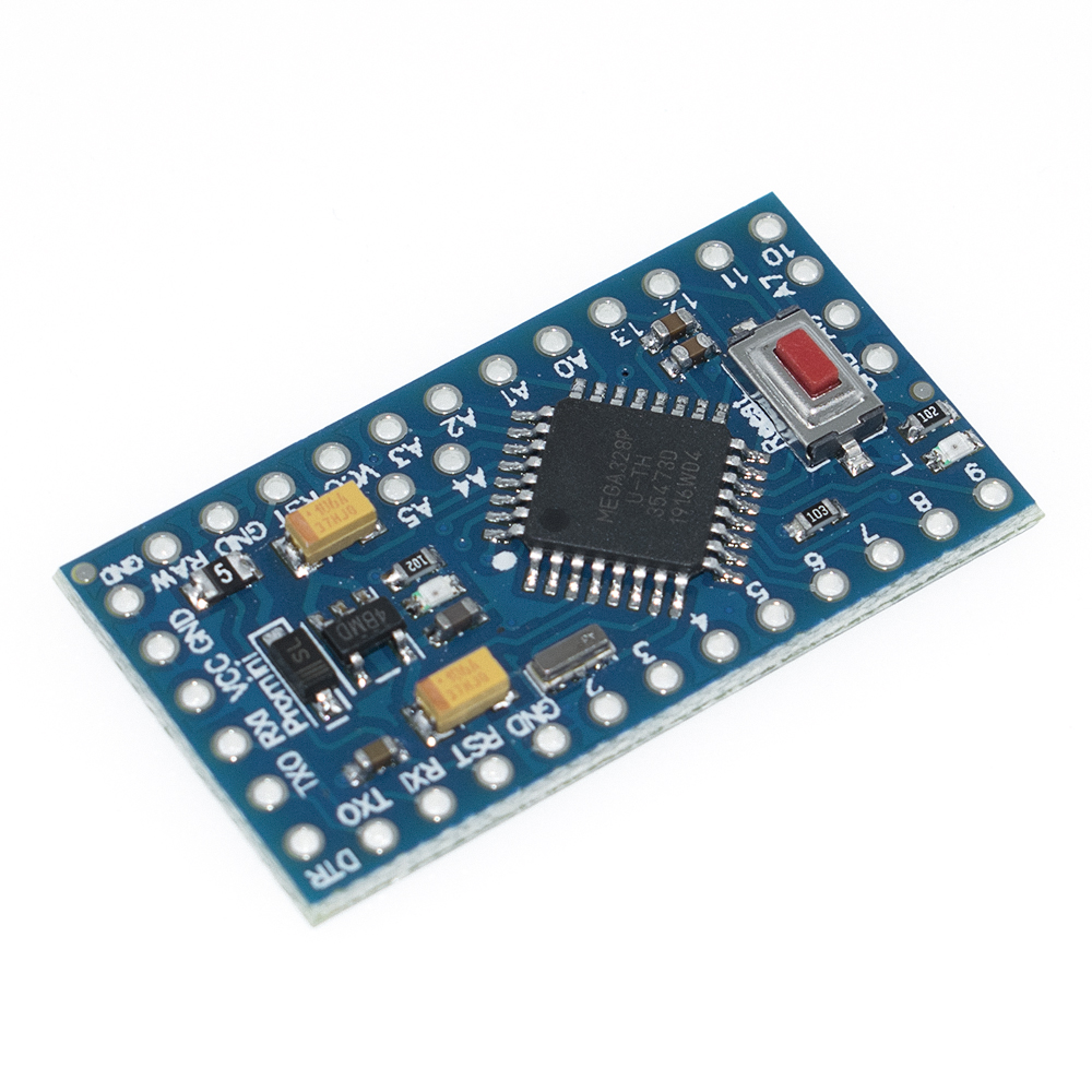 Image 4 - With the bootloader Pro Mini ATMEGA328P 328 Mini ATMEGA328 5V/16MHz 3.3V/8MHZ for arduino-in Integrated Circuits from Electronic Components & Supplies