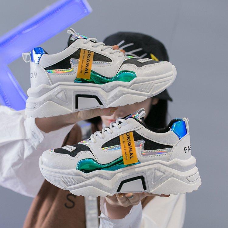 NAUSK Fashion Women Spring Tennis Sneakers 2020 Women Shoes Design Casual Shoes Comfortable Women Vulcanized Shoes Basket Femme