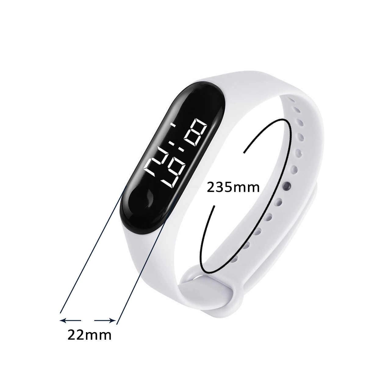 Durable numérique hommes femmes montre intelligente mode Led sport montre électronique sport main anneau montres