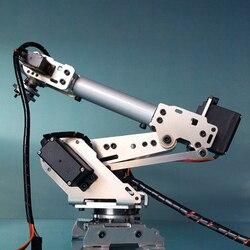DIY 6DOF Robot brazo mecánico Kit PS2 Robot de Control remoto para Arduino niños cumpleaños Regalos 2020